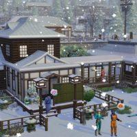 Les Sims 4 Escapade enneigée se dévoile