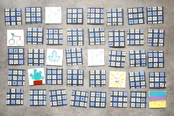DIY enfants : fabriquer un jeu de Memory