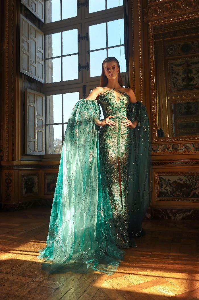 Paris Fashion Week haute couture 2021 : les « Birds of Love » de Ziad Nakad