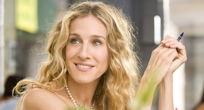 carrie bradshaw série sex and the city