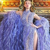 Paris Fashion Week haute couture 2021 : les « Birds of Love » de Ziad Nakad