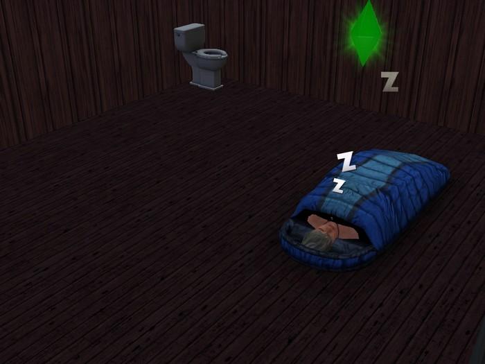 Les Sims 3 bateau Sim sac de couchache sans motherlode