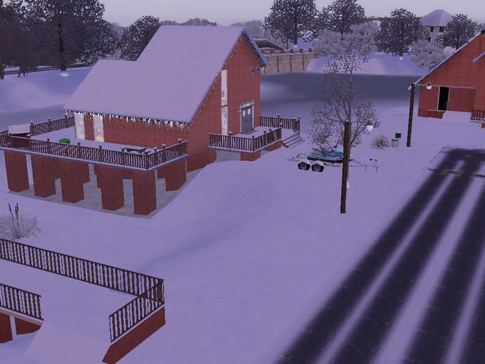 Les Sims 3 quartier en devenir Twinbrook briques