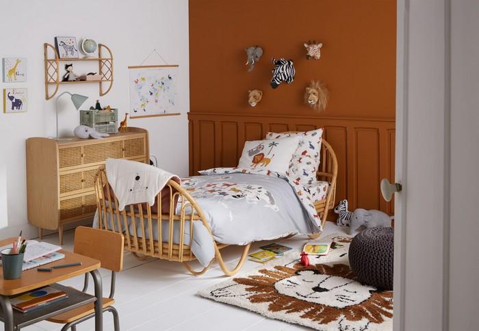animaux trophées chambre enfants © La Redoute