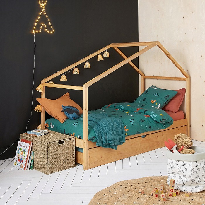 chambre enfants bois