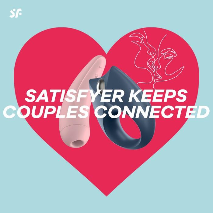 Couples à distance : gagnez 1 400 produits Satisfyer