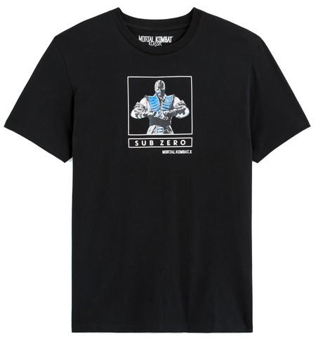 tee-shirt celio Mortal Kombat