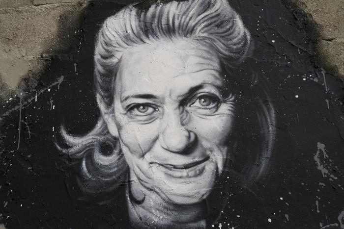 Élisabeth Badinter peinture