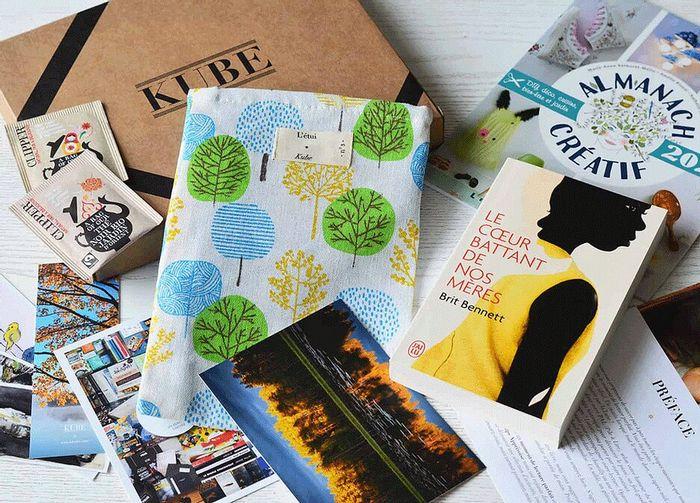 box livres Kube Originale DIY