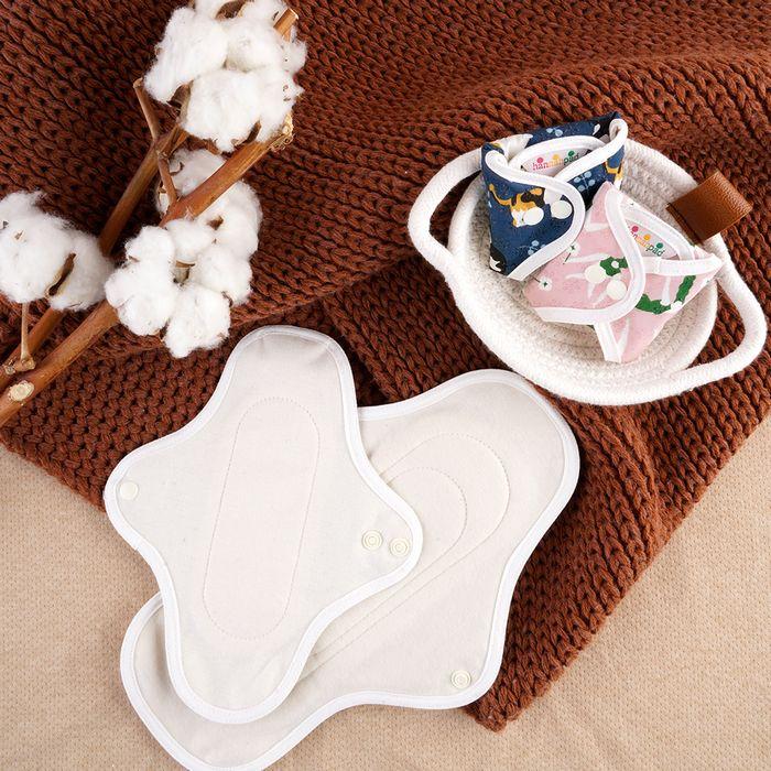 hannahpad serviettes hygiéniques zéro déchet 1