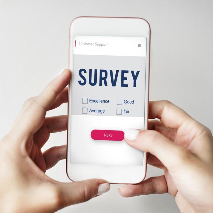 répondre à des sondages en ligne