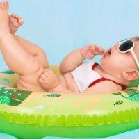 Bébé nageur : comme un poisson dans l'eau