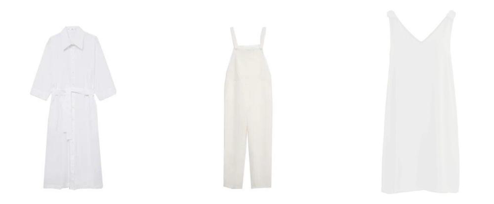 mode blanc minimaliste été 2021