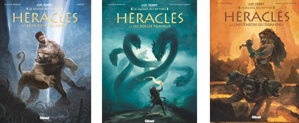 Héraclès tomes 1 à 3