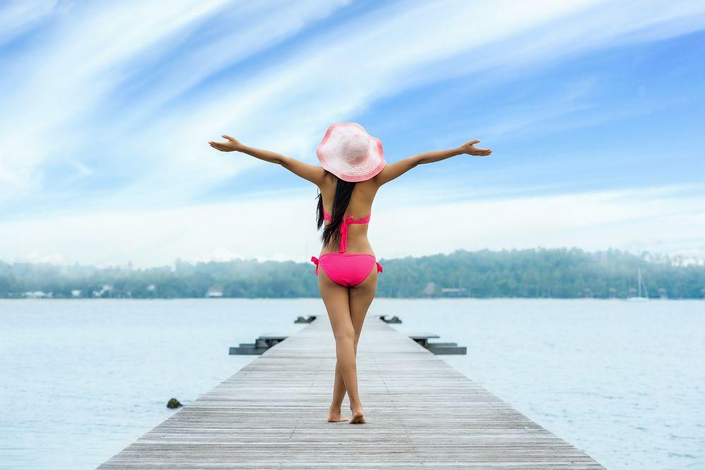 choisir maillot de bain 2 pièces rose
