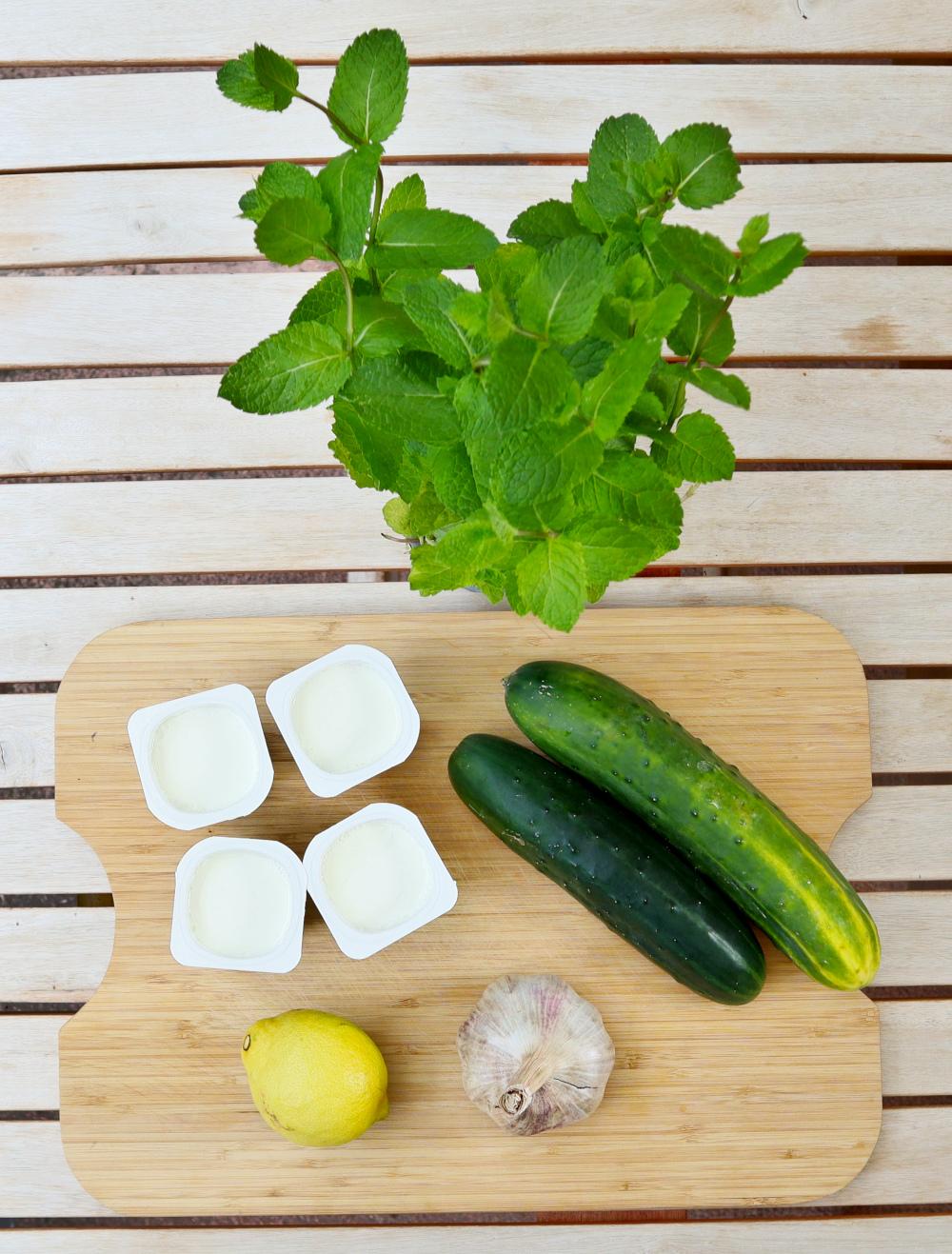 Recette de soupe froide de concombre